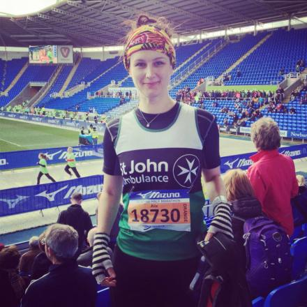 Alix Doran, of Muswell Hill, plans to take on the London Marathon for St John's Ambulance