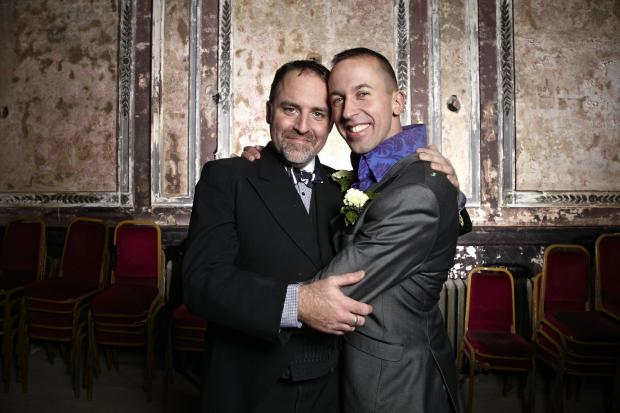 Haringey Independent: Benjamin Till and Nathan Taylor got married at Alexandra Palace on Saturday
