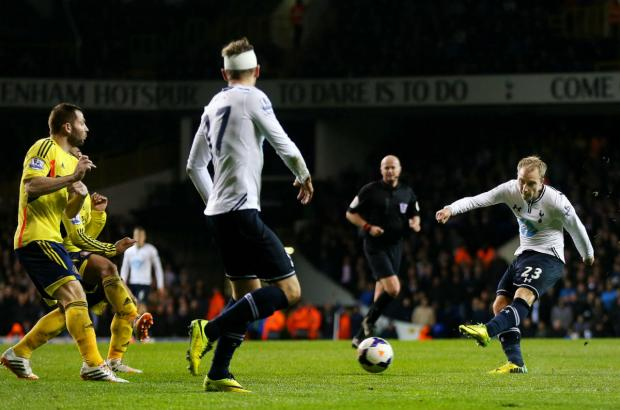 Eriksen capped his man-of-the-match performance with a second half goal