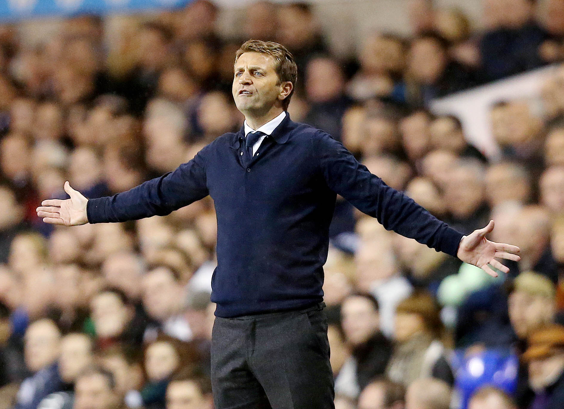 Sherwood's future as the club's head coach has been under increased scrutiny after rumours he will be replaced this summer