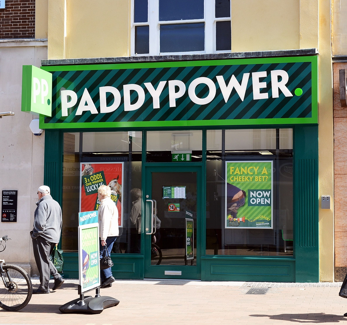 Paddy Power has applied to open a new branch in Wood Green