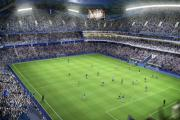 An image of the new stadium showing a two-tier South Stand angered fans when it appeared online