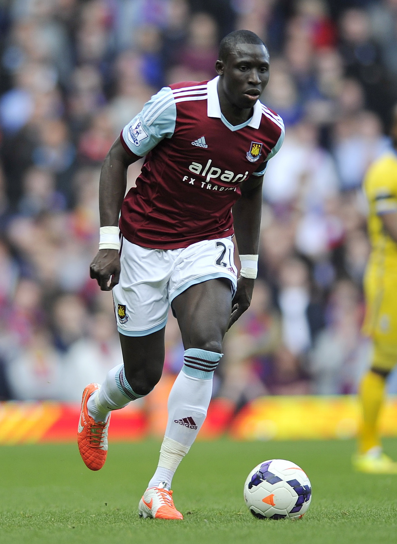 Mo Diame missed just three Premier League fixtures for the Hammers this term. Picture: Action Images