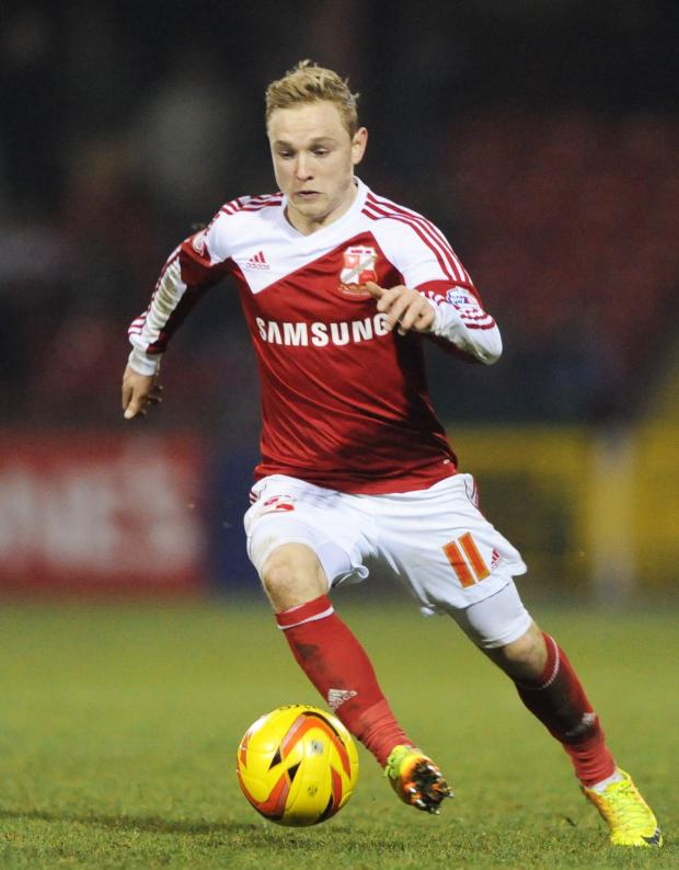 Haringey Independent: Alex Pritchard in action for Swindon Town. Picture: Action Images