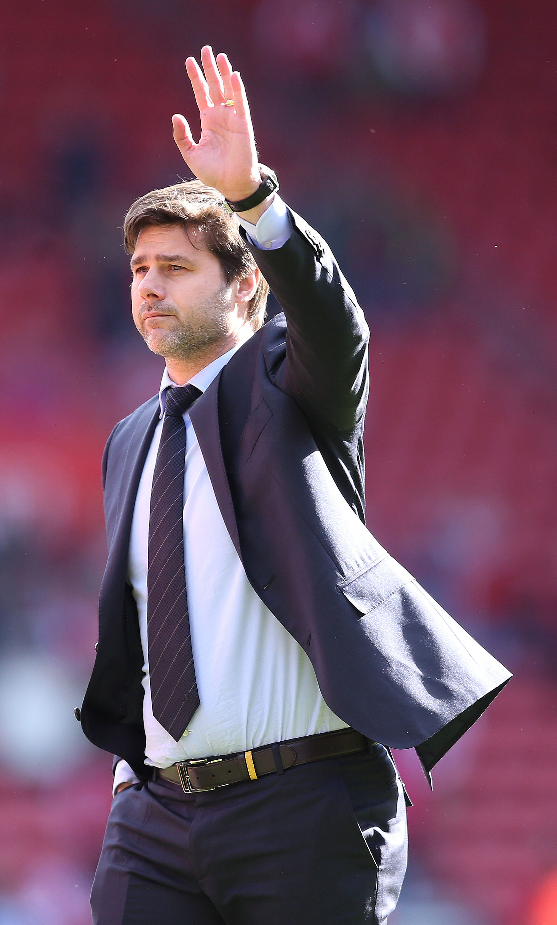 Mauricio Pochettino looks set to wave goodbye to Southampton. Picture: Action Images
