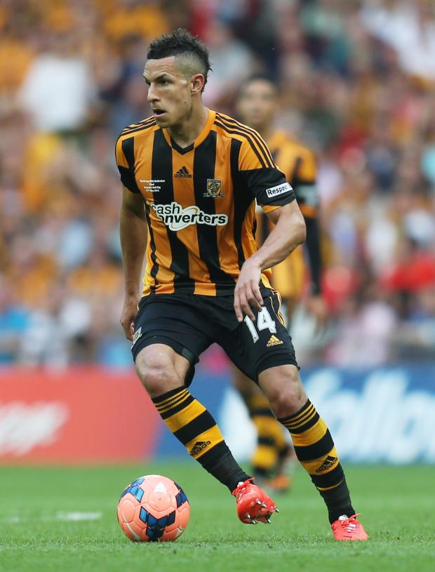 Haringey Independent: Jake Livermore in the FA Cup final with Hull City. Picture: Action Images