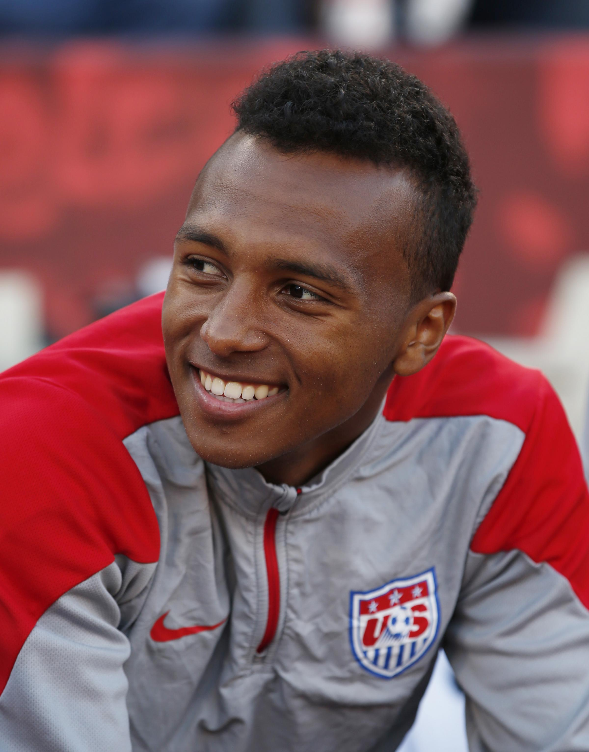 Julian Green on international duty with the USA. Picture: Action Images