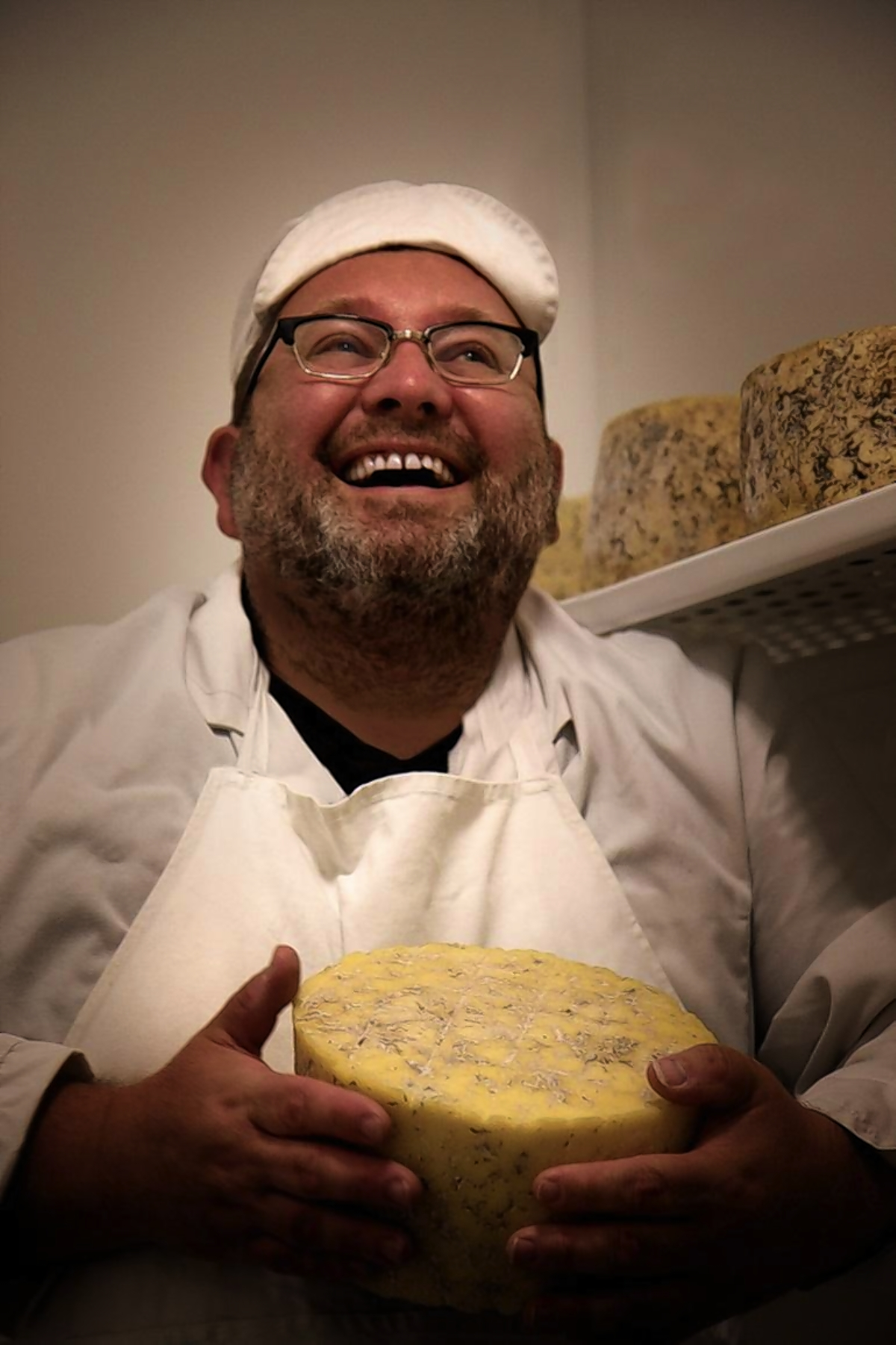 Wildes Cheese owner Philip Wilton is looking forward to spending more time meeting customers