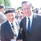 Haringey Independent: Mervyn Kersh, a member of the Southgate Branch (75th) of the NVA, met David Cameron on his trip to Normandy earlier this month