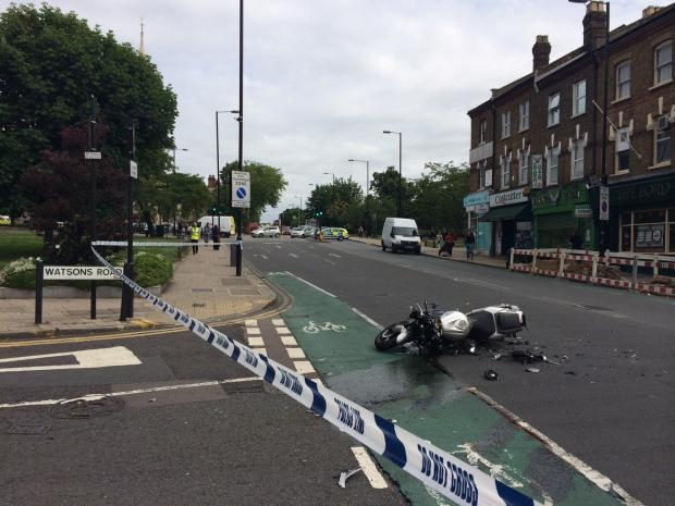 Haringey Independent: Serious motorcycle crash near Wood Green 'rat run'
