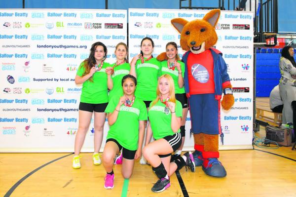 Haringey finished second at the London Youth Games
