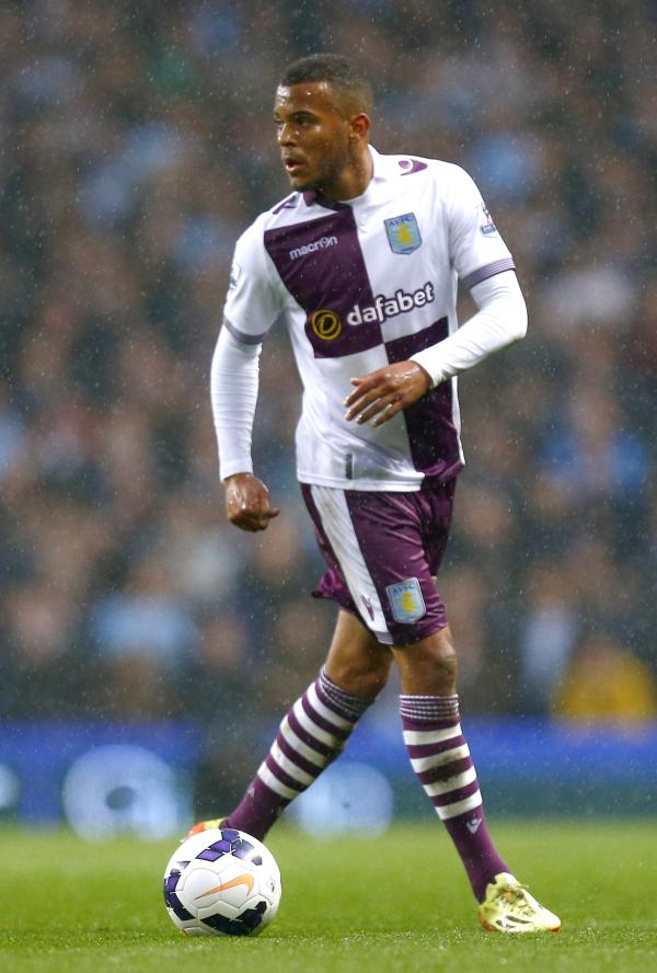 Ryan Bertrand in action for Aston Villa last term. Picture: Action Images