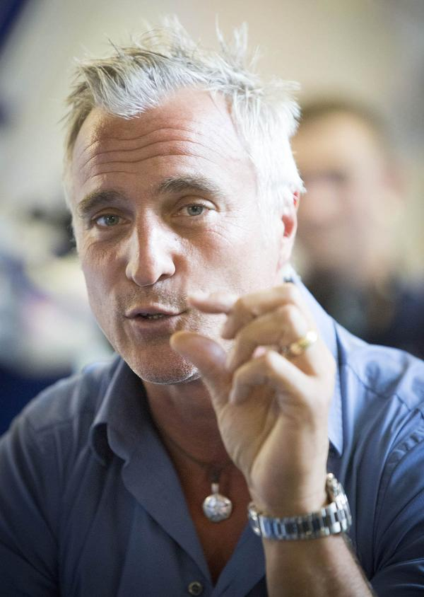 David Ginola was speaking at the Bruce Grove youth centre