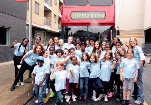 Young dance group throw flash-mobs across borough