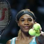 Haringey Independent: Serena Williams must wait to see whether she reaches the semi-finals of the WTA Finals in Singapore (AP)