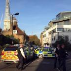 Haringey Independent: Police at the scene where a teenager was stabbed to death in south London