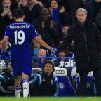 Haringey Independent: Jose Mourinho, right, was full of praise for the Stamford Bridge faithful following Chelsea's win over West Brom