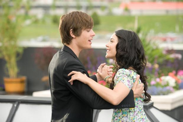 High School Musical 3: Senior Year. Pictured: Zac Efron and Vanessa Anne Hudgens.
